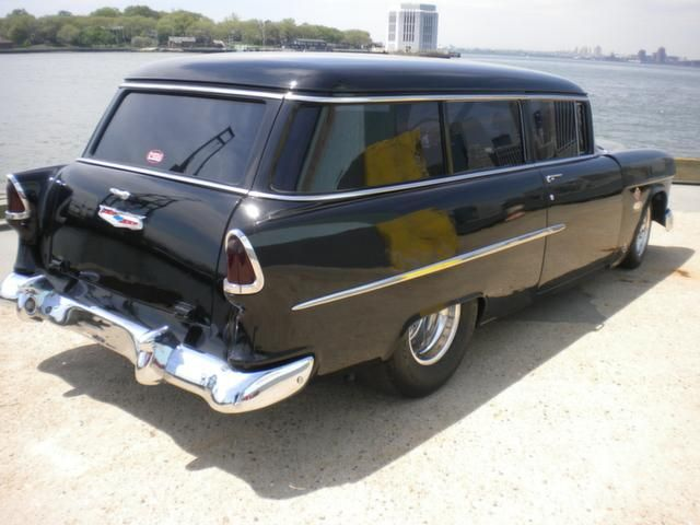 1955 Chevy Truck Salvage 1955 Chevrolet Two Ten Handyman Wagon