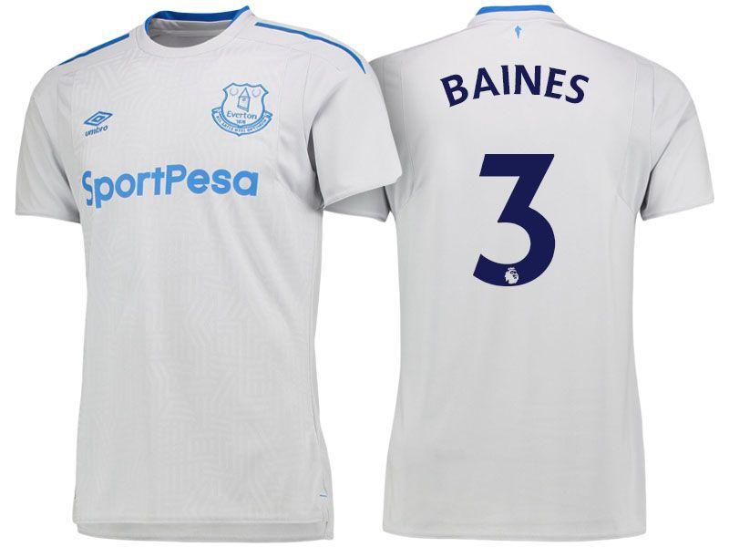 reputable site 75663 09c99 Everton Jersey leighton baines Away 17-18 Shirt | cheap ...