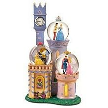 Disney Snow Globes, Disney Princess Snow Globe