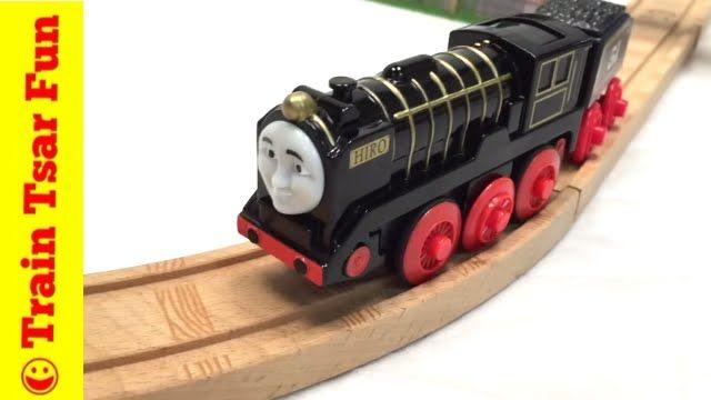 Thomas Friends Wooden Railway Hiro Motorized Train Locomotive