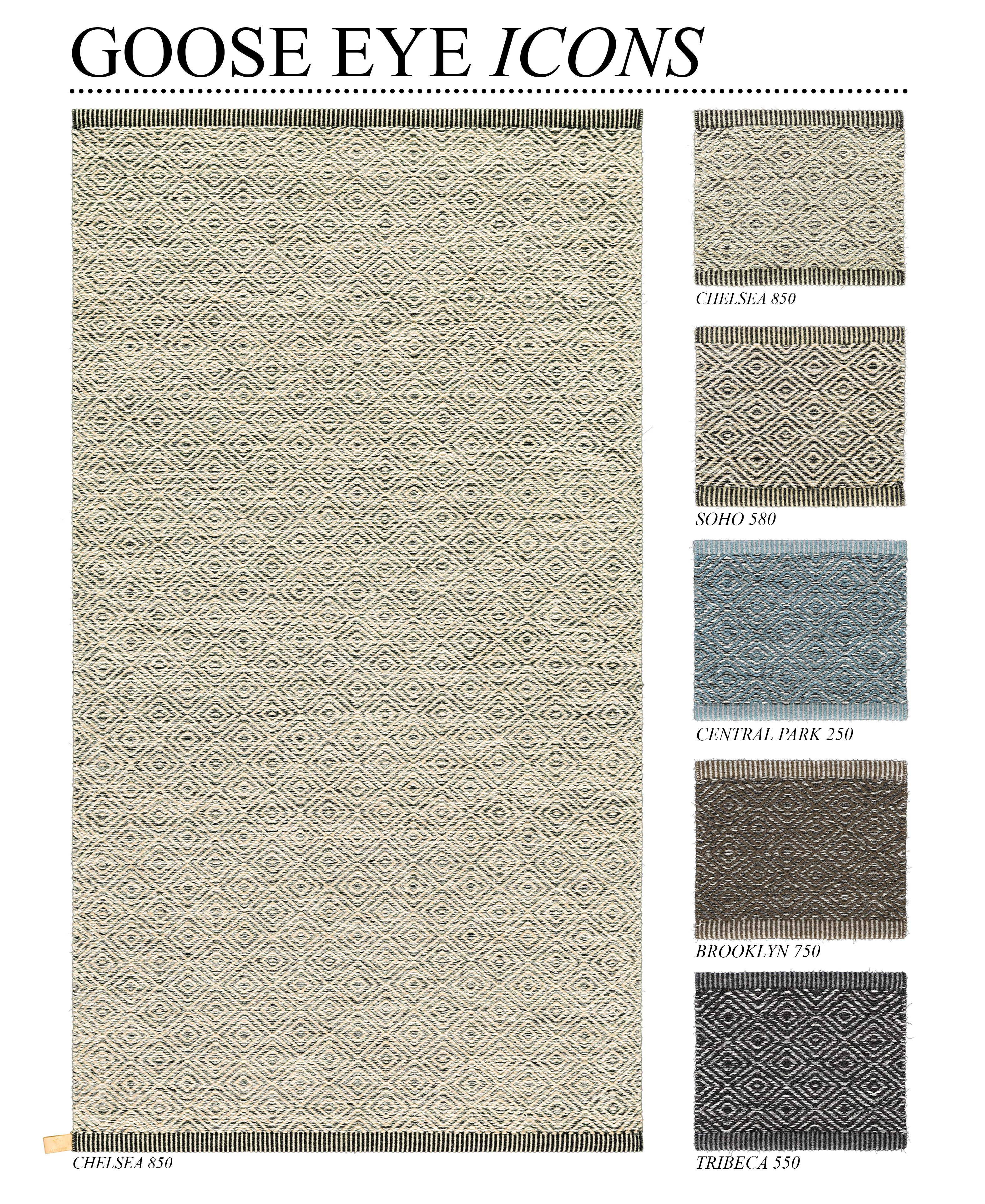 Kasthall Goose Eye Icon the perfect rug for every room! | hem inredning