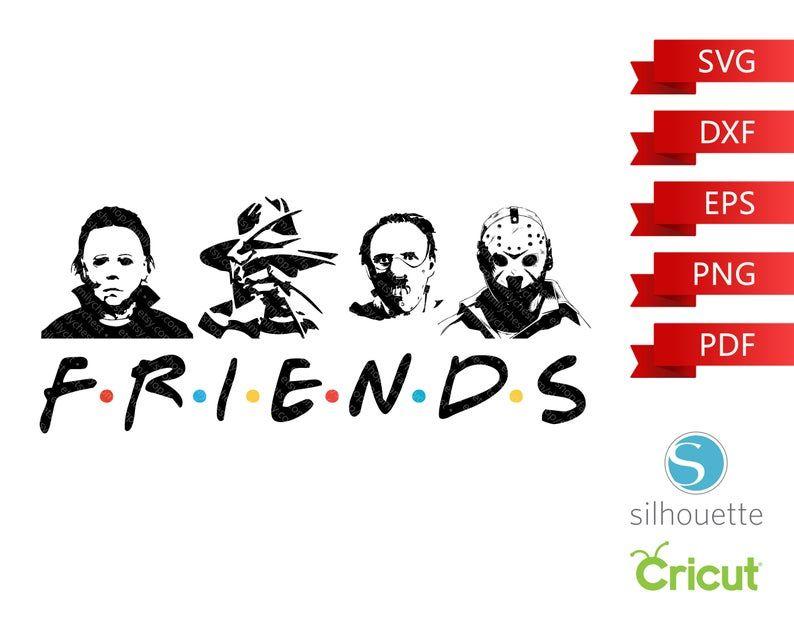Halloween 2020 Michael Myers Vs Jason Horror Legends Friends SVG Freddy vs. Jason SVG Halloween   Etsy