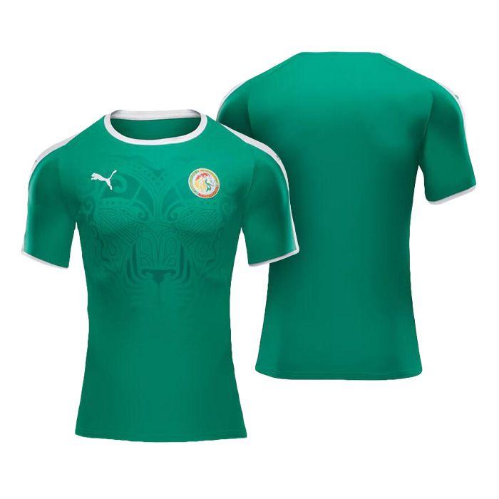 e50d8e6d349 Men's Senegal 2018 World Cup Away Green Jersey | 2018 World Cup ...