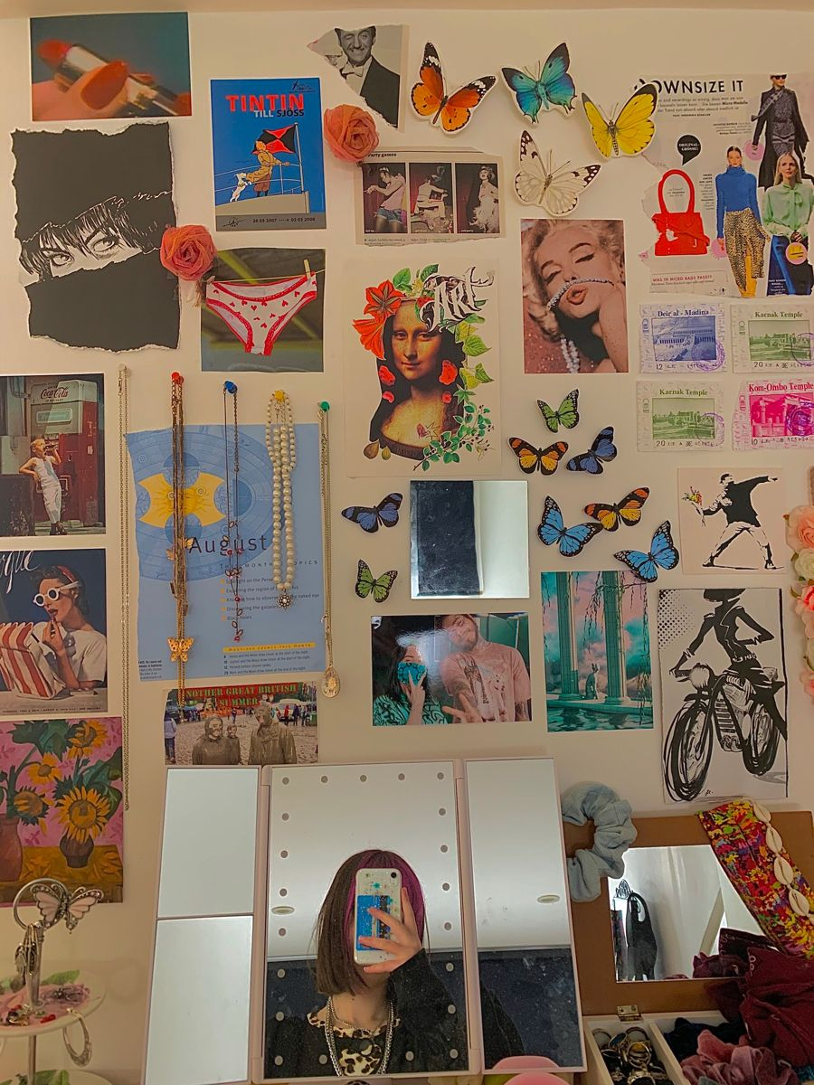 Inxssa666 S Room In 2020 Indie Room Decor Room Inspo Retro Room
