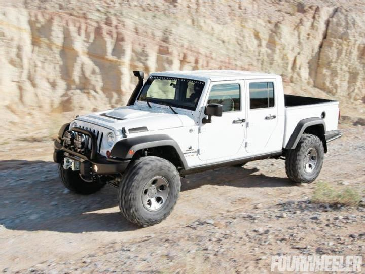 Jeep Wrangler Unlimited Pickup Conversion With Images New