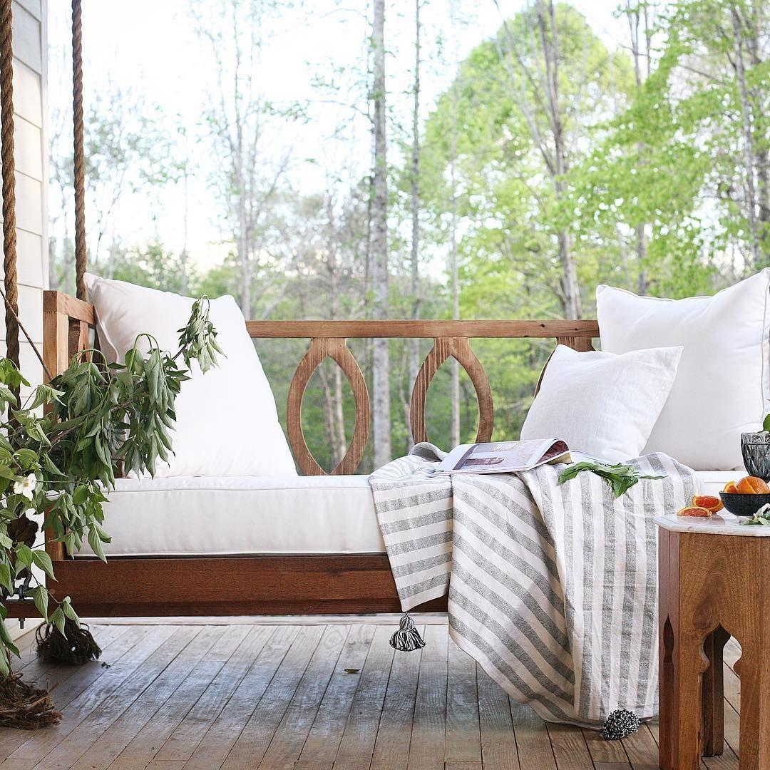 Wood porch swing design outside pinterest porch swings