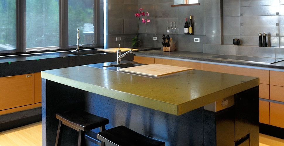 Concrete Kitchen Countertopyves Sthilaire Canada Best Mesmerizing Concrete Kitchen Countertops Design Inspiration