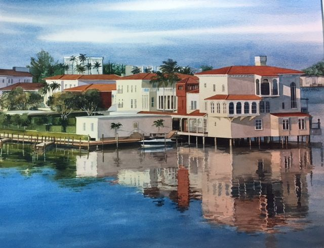Watercolor Watercolor Artist Naples Naples Florida Watercolor