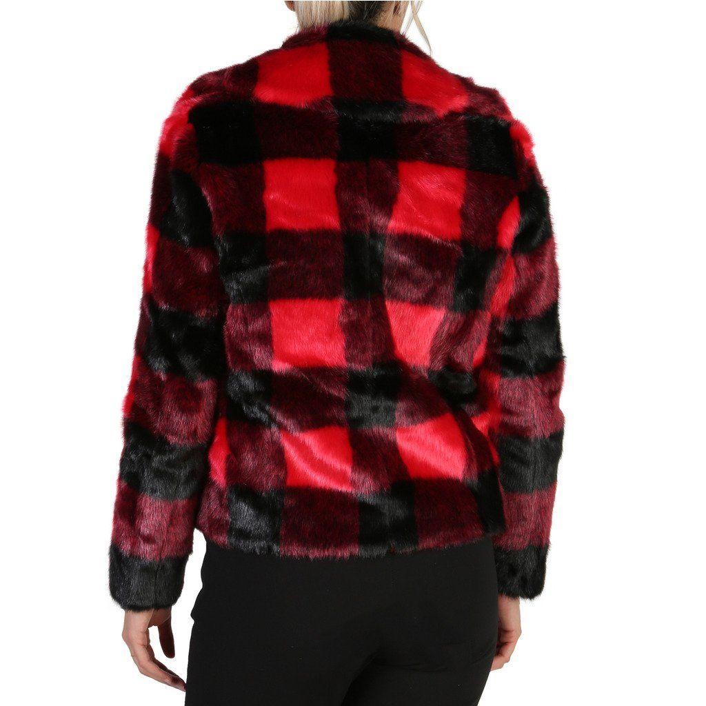 Guess Womens Coat Red W84L76