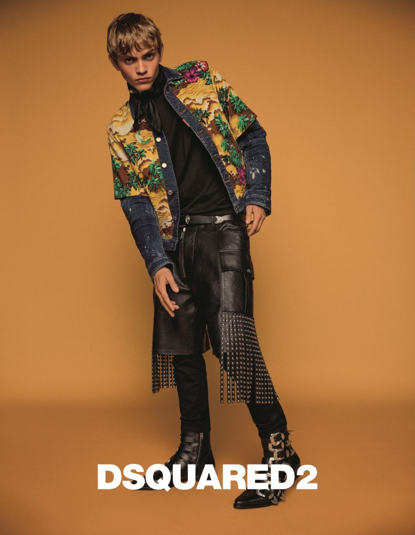 cef3553cab49 Piergiorgio Del Moro cast models' for Dsquared2's SS 2018 advertising  campaign! Photographs by Inez and Vinoodh with styling by Panos Yiapanis,  art directed ...