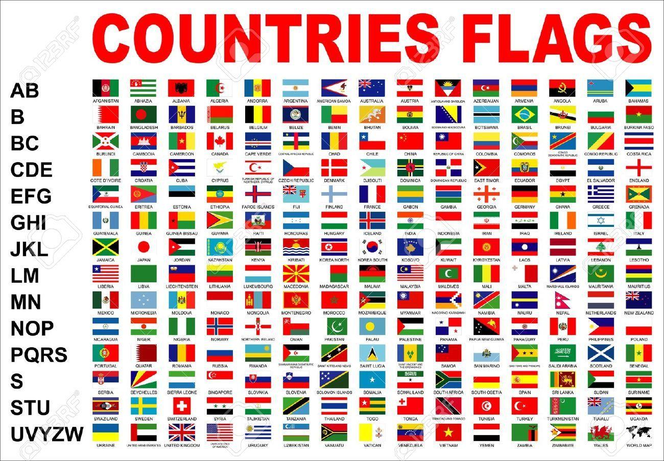 Countries Flags Countries And Flags Country Flag List Flag