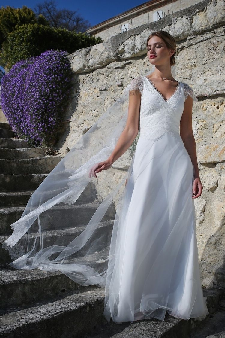 Collection 2018 - Robe de mariée Quartz by Elsa Gary Exclusivité Juliette  se Marie - Aix 480577db55c