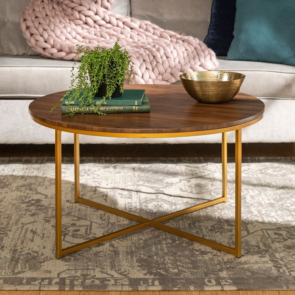 Overstock Com Online Shopping Bedding Furniture Electronics Jewelry Clothing More Coffee Table Gold Coffee Table Round Wood Coffee Table [ 1000 x 1000 Pixel ]