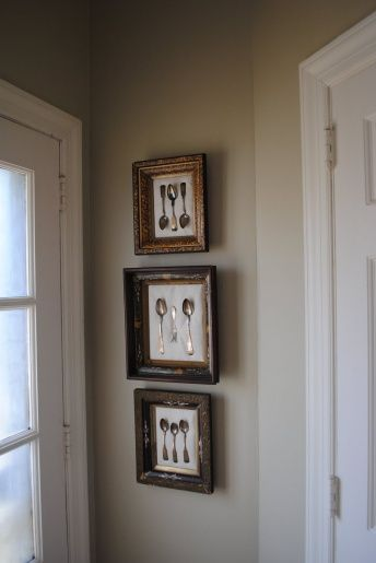 Another idea for our dining room framed antique for Dining room framed art