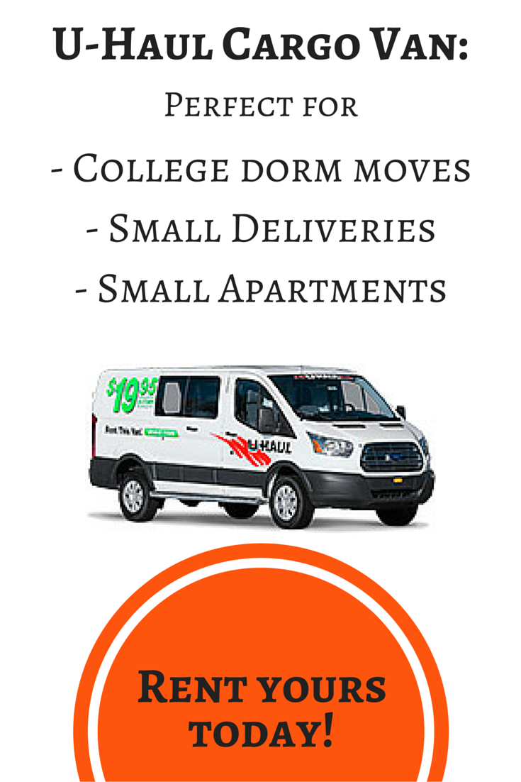 Uhaul Rental Quote A Cargo Van Is The Perfect Vehicle To Rent For Smaller Loads