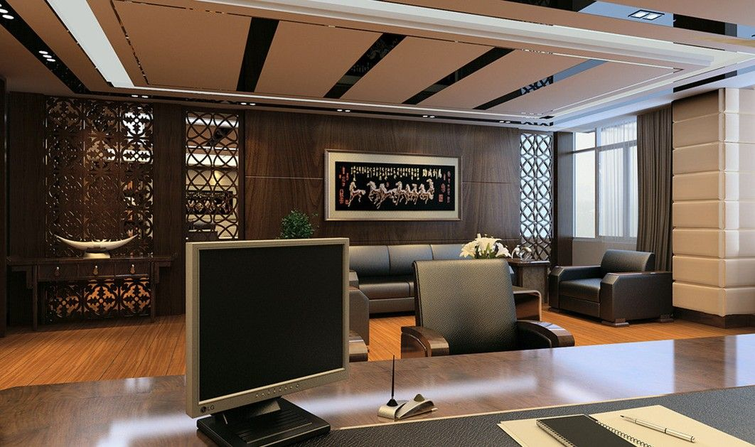 21 luxury modern office design ideas ceo office modern for Modern office interior design pictures