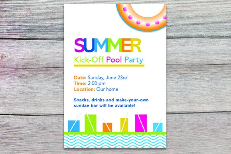 Photo of Summer pool party , #ad, #dpi#CMYK#ready#Files #affiliate