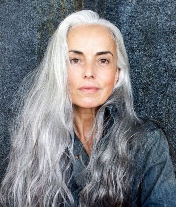 Long Gray Hairstyles For Women Over 30 30 | Beauty at any age ...