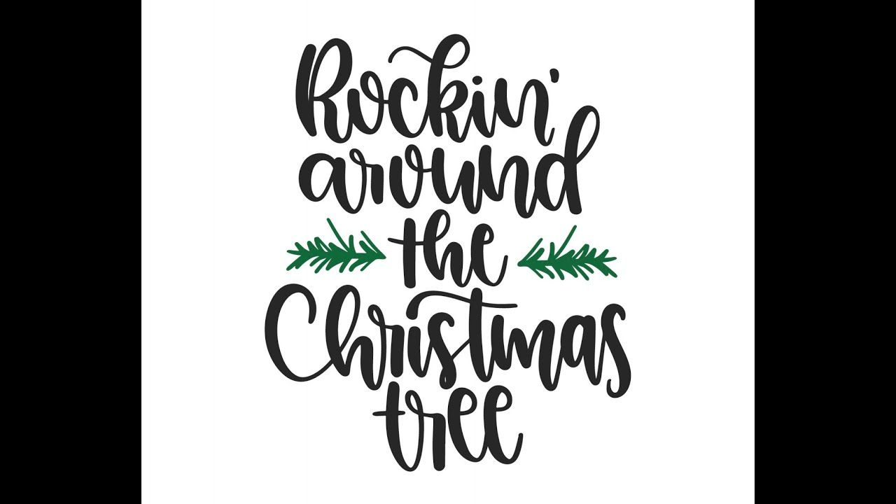 Rockin' Around the Christmas Tree! Karaoke | Karaoke, Rockin, Christmas song