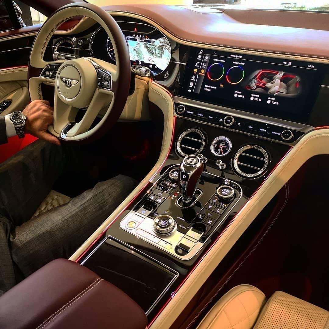 Car Interior On Instagram New Bentley Continentalgt C Karim Luxury Luxury Car Interior Luxury Cars Car Interior
