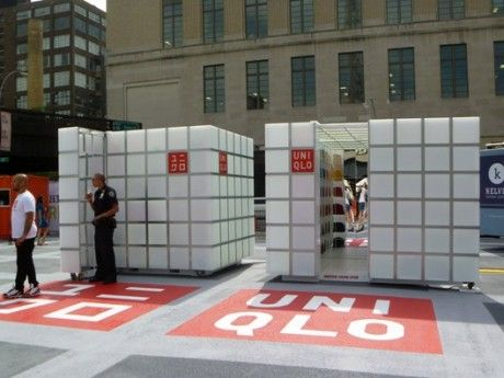 Uniqlo S Pop Up Store Is Both Playful And Innovative Creative