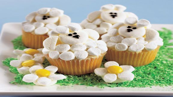 Cupcakes by Annabel Karmel Muffins Pinterest Sheep cupcakes