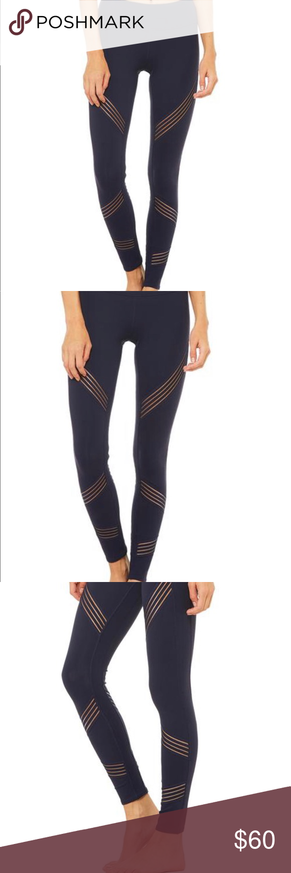 d289aae1f1fba Alo multi legging - rich navy Rich navy Alo legging! Fabulous legging for  practicing yoga