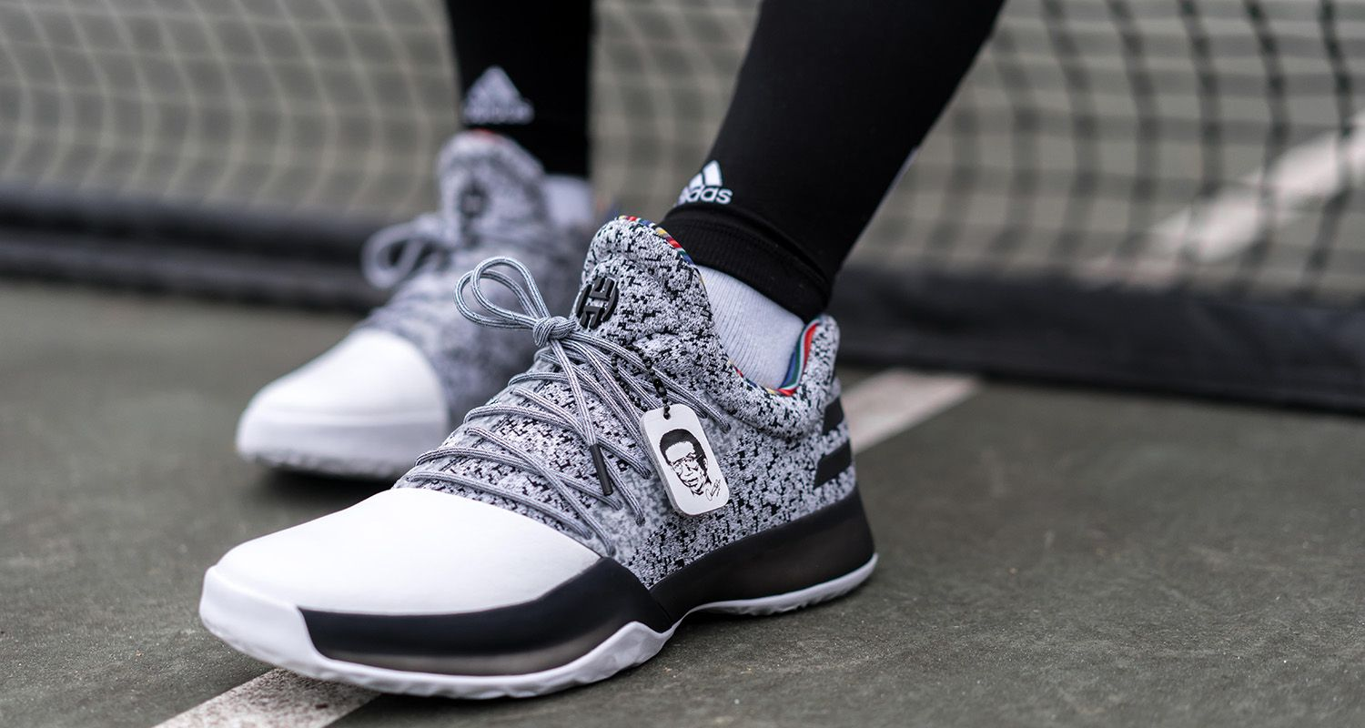 The adidas Harden Vol. 1 Black History Month will release on January ... 4a835da861