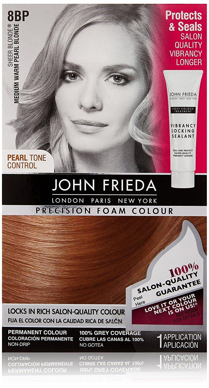 John Frieda Precision Medium Warm Foam Colour Sheer Blonde Pearl