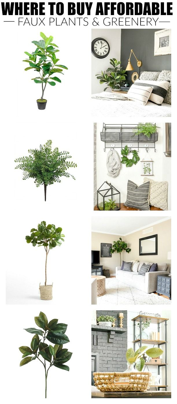 The best sources for affordable faux plants and greenery the best affordable sources for life like artificial trees plants wreaths and greenery izmirmasajfo