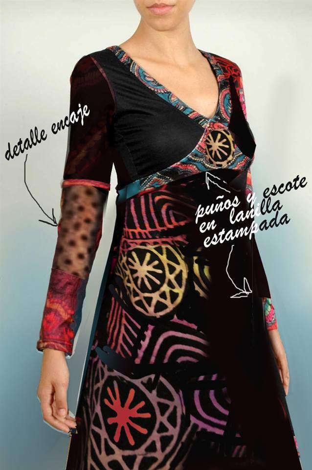 abre bien tus ojos y disfruta de todos los vestidos otoño - invierno que tenemos para ti Las texturas ...la trama y el color combinados en una sola pieza ....y con la firma de lo exclusivo....