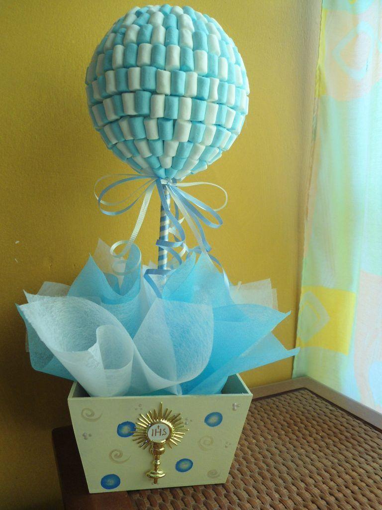 Centros De Mesa De Bombones Para Baby Shower De Niño Manualidad
