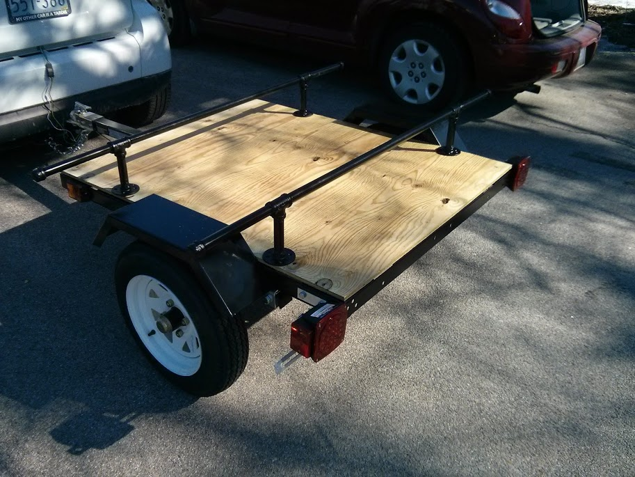 Harbor Freight Trailer Build Page 2 Smart Car Forums