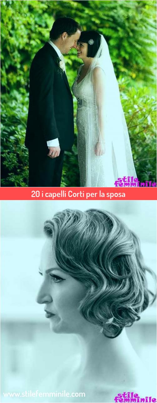 Photo of 20 i capelli Corti per la sposa
