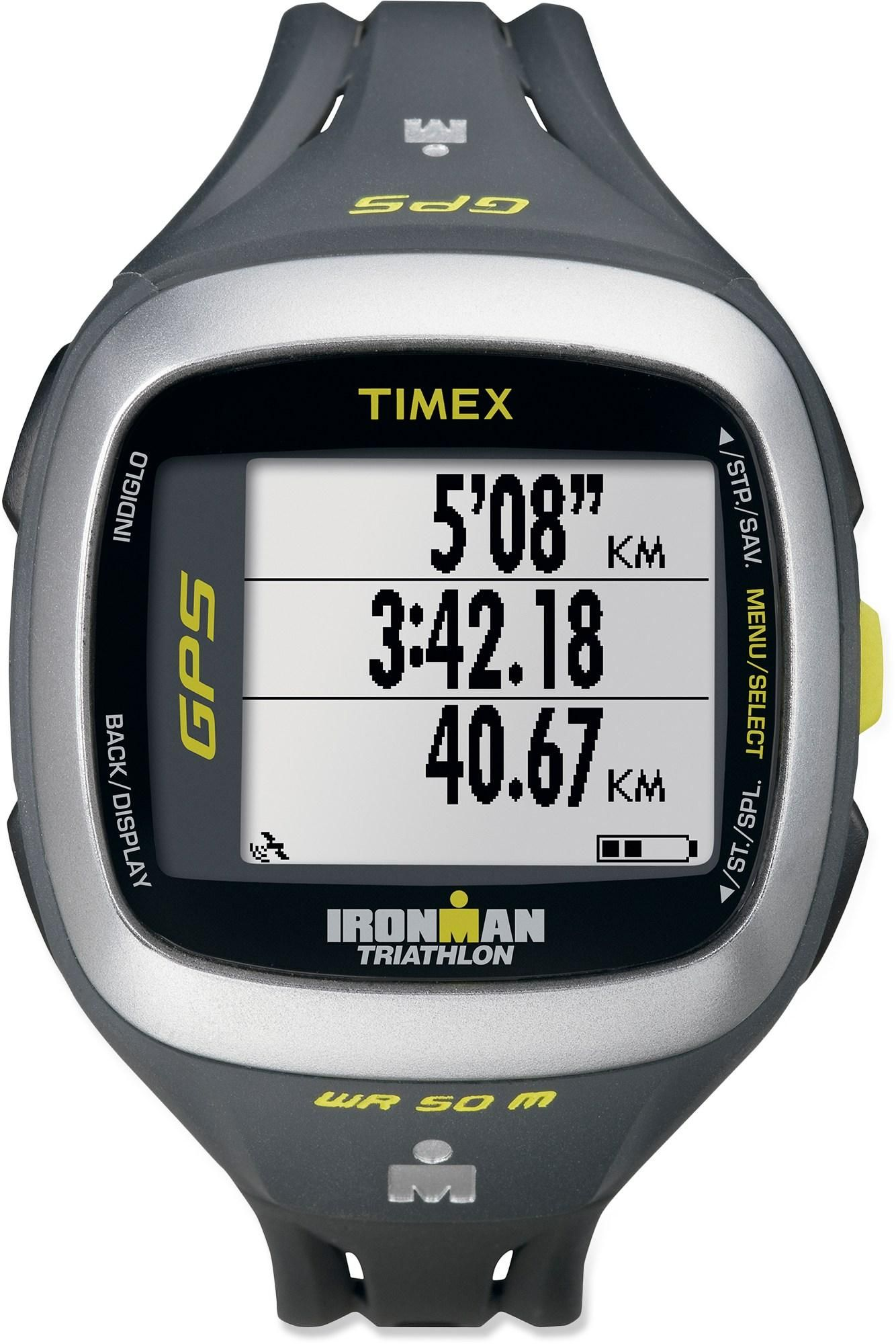 2e0b4d114c80 The Timex Ironman Run Trainer 2.0 GPS watch is thinner and smaller than its  predecessors
