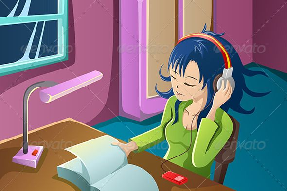Listening To Music While Reading A Book
