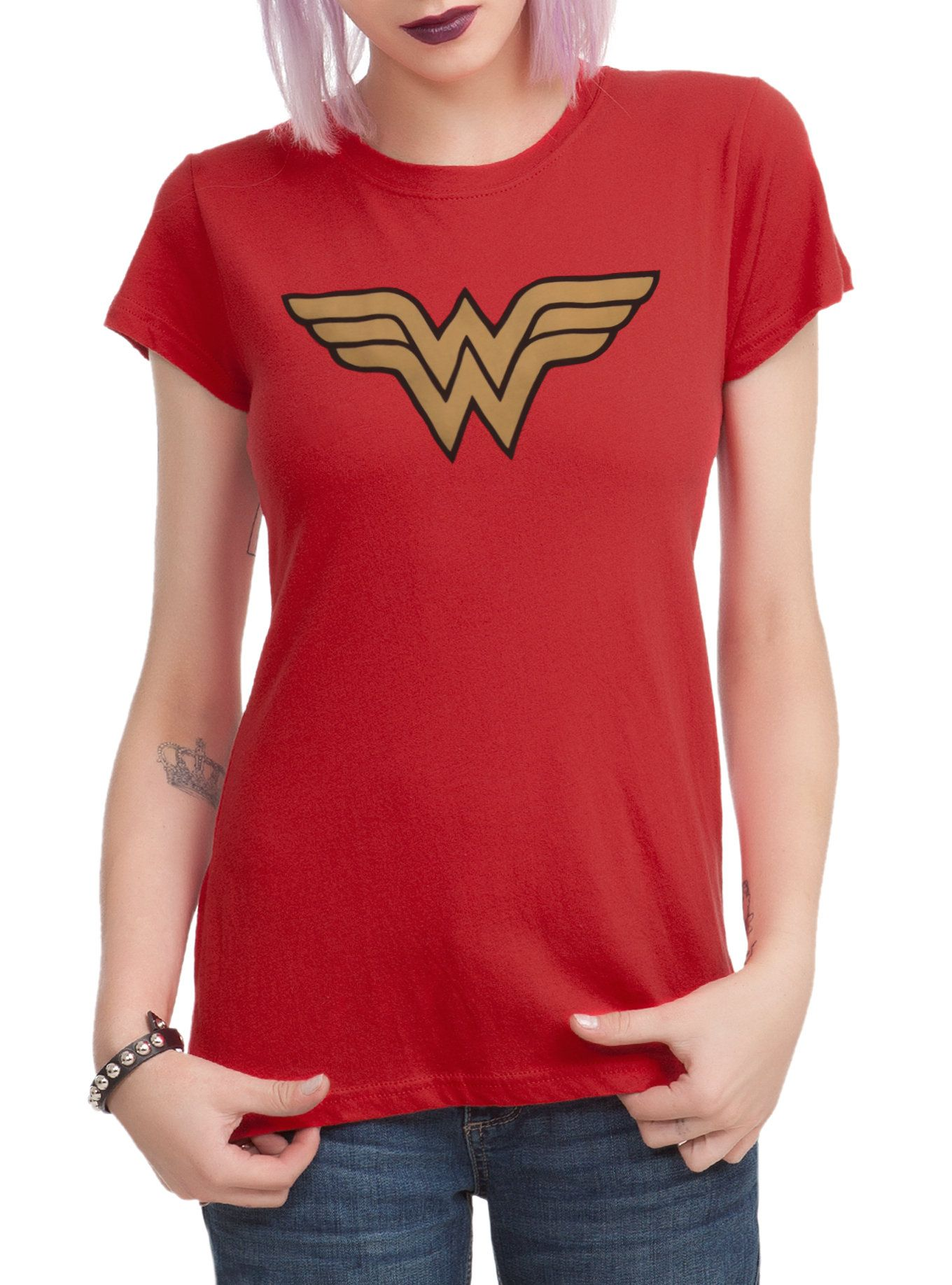 DC Comics Wonder Woman Cosplay Girls T-Shirt | Hot Topic