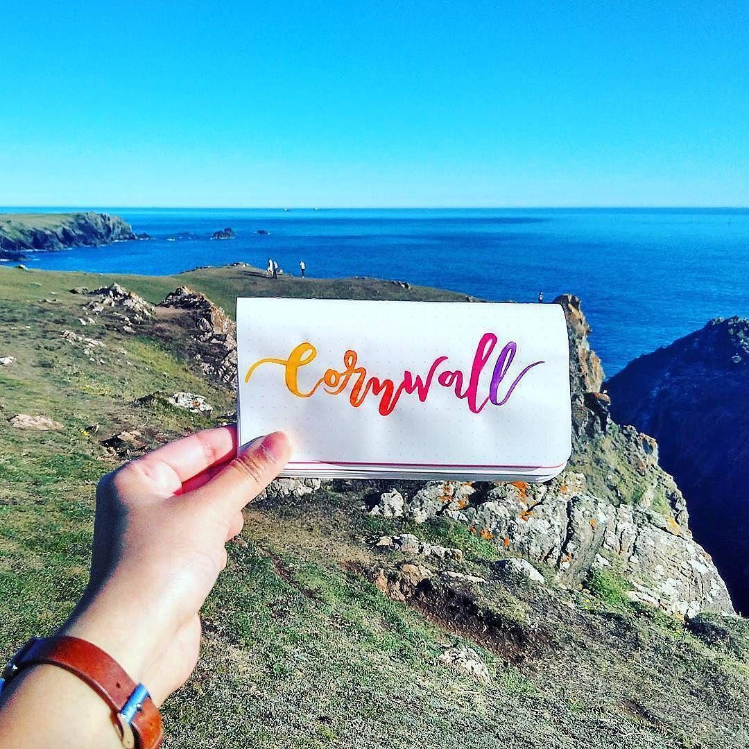Cornwall Artist Elenkainspired Location Cornwall England With