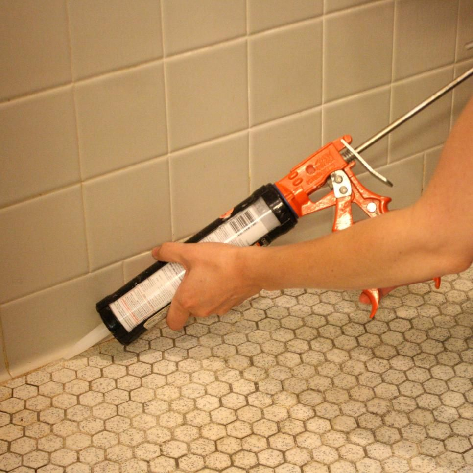 how to remove mold from tile caulk