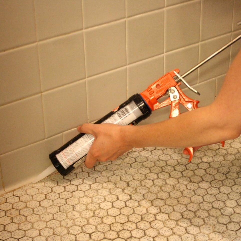 6. Clean Bathroom Lines Mold in bathroom, Caulk