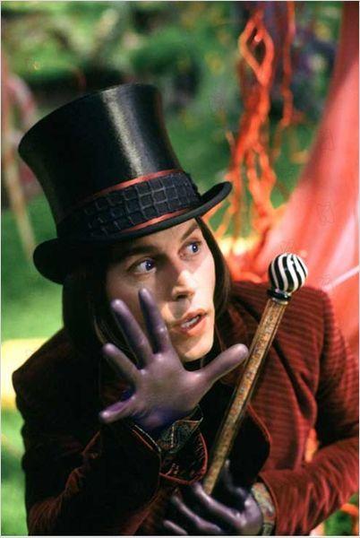 Charlie et la chocolaterie : Photo Johnny Depp, Tim Burton