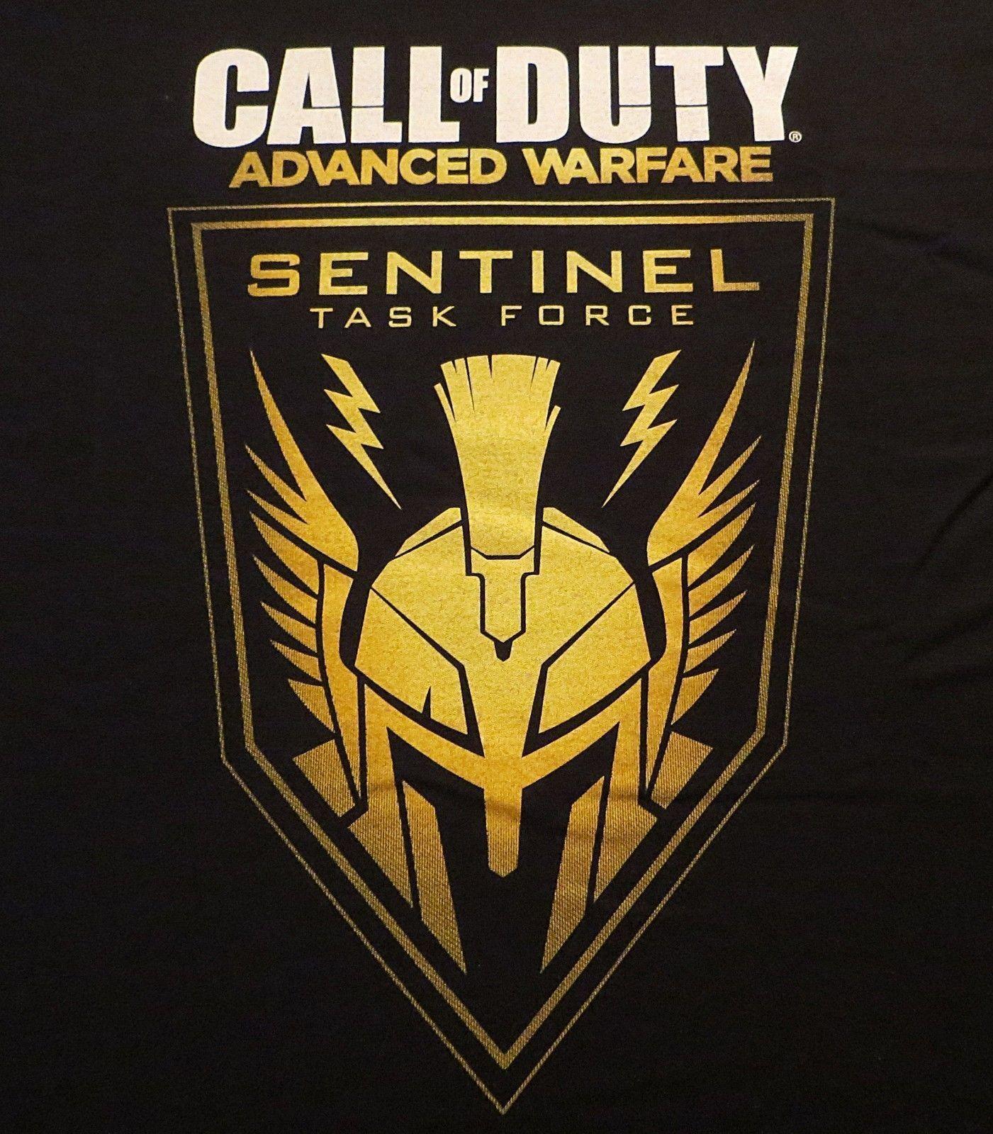 Call Of Duty Advanced Warfare L T Shirt New Sentinel Task Force