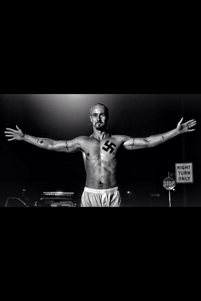 Edward Norton American History X Tattoos : edward, norton, american, history, tattoos, UNBLIEVABLE!!!!!, Edward, Norton, Derek, Vinyard, American, History, History,, Facts