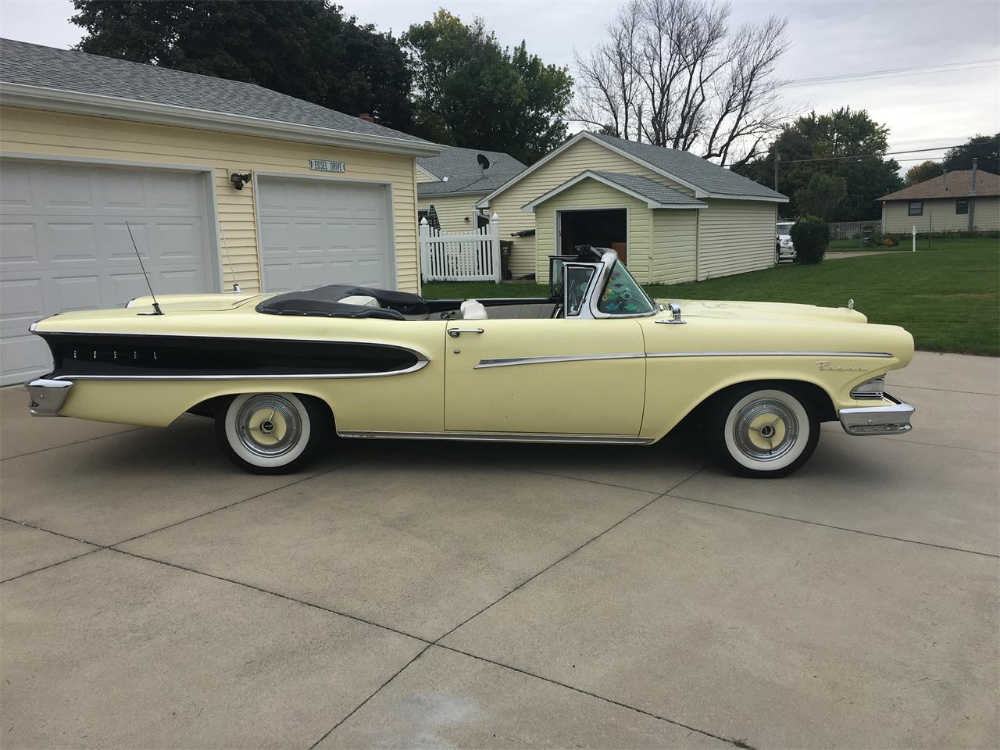 1958 Edsel Pacer Cc 1271382 For Sale In Fremont Nebraska