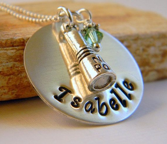Personalized Nail Technician Necklace Nail Polish By