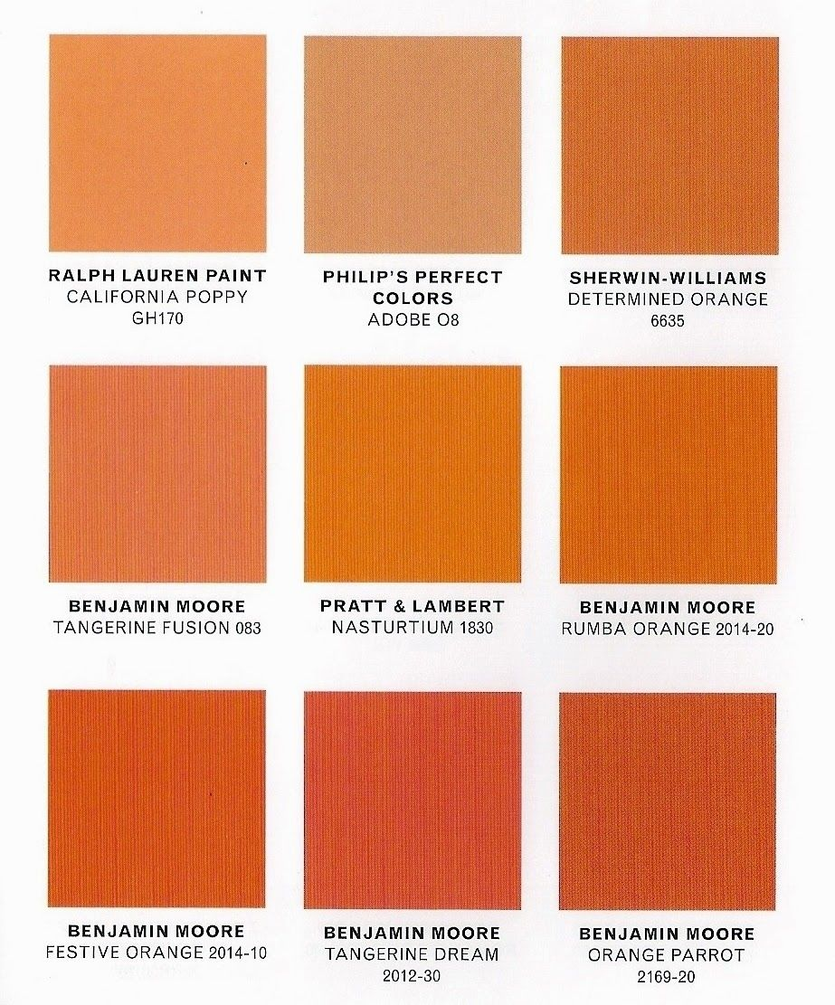 Tangerine Paint Color benjamin moore orange parrot - google search | home ideas