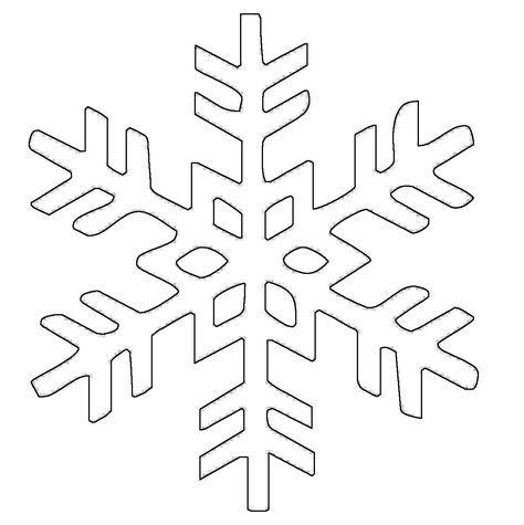 ausmalbild schneeflocken und sterne: kostenlose malvorlage