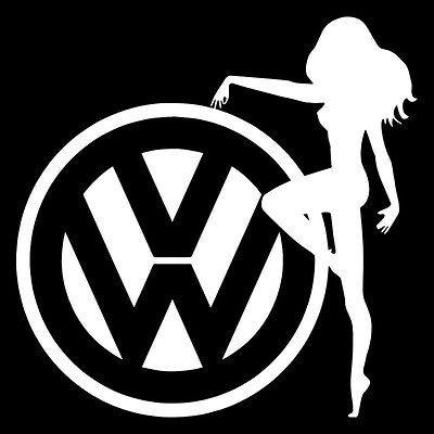 Volkswagen Logo , Sexy VW Logo, Logo for VW Bug Beetle, VW Bug decals
