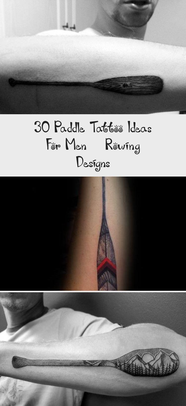 Photo of 30 idées de tatouage de pagaie pour hommes – Dessins d'aviron – Tatouages et art corporel