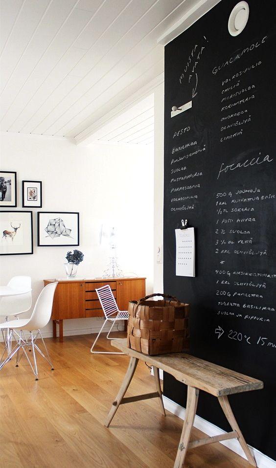 via pihkala black and white eames dsr blackboard keuken rh pinterest com